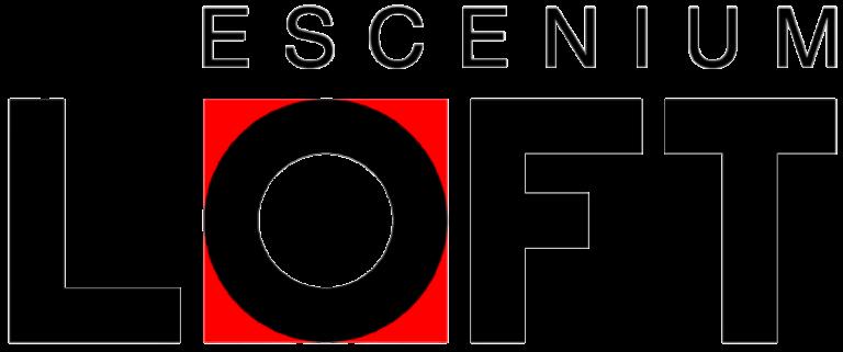 Logo Escenium LOFT transparente