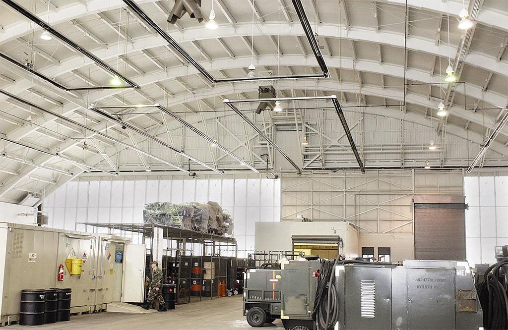 Calefaccion industrial por infrarrojos
